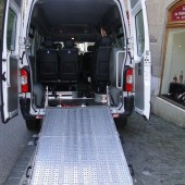 Renault Master 12 seats  (include one place for wheelchair)